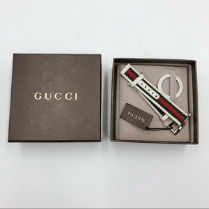 Gucci U-Play Guccisima Leather Watch Strap & Bezel